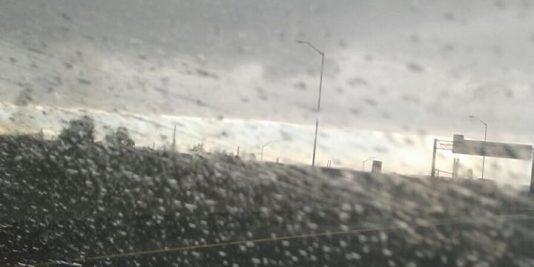 Driving during blizaard
