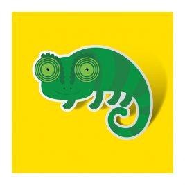 Chameleon, https://poemtheart.com