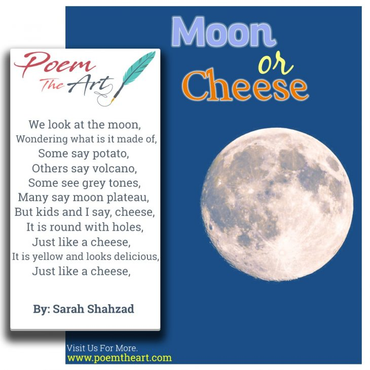 Moon or Cheese
