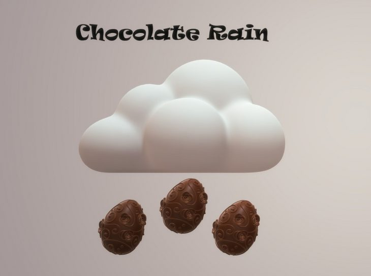 Chocolate Rain, A poem about happiness
