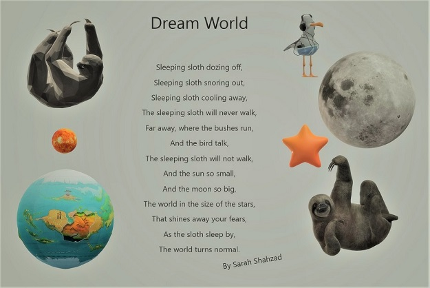 Dream World, Poems about Dream