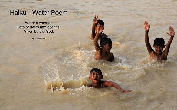 Haiku Poem on Water