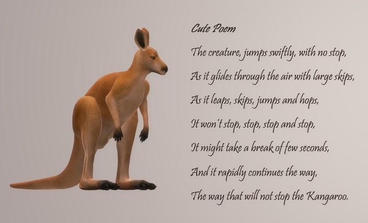 Cure Poem, Kangaroo