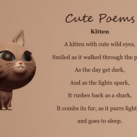 Kitten, Cure Poems
