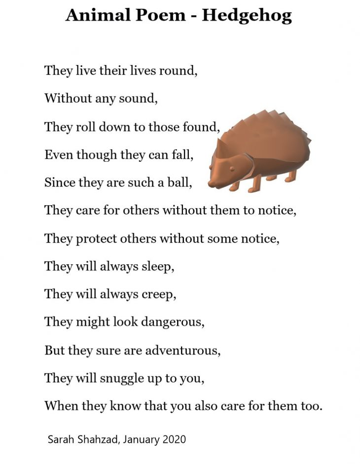 Hedgehog - Animal Poem