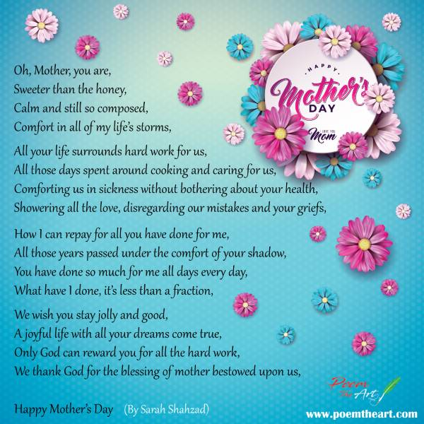 Poem on Mother
